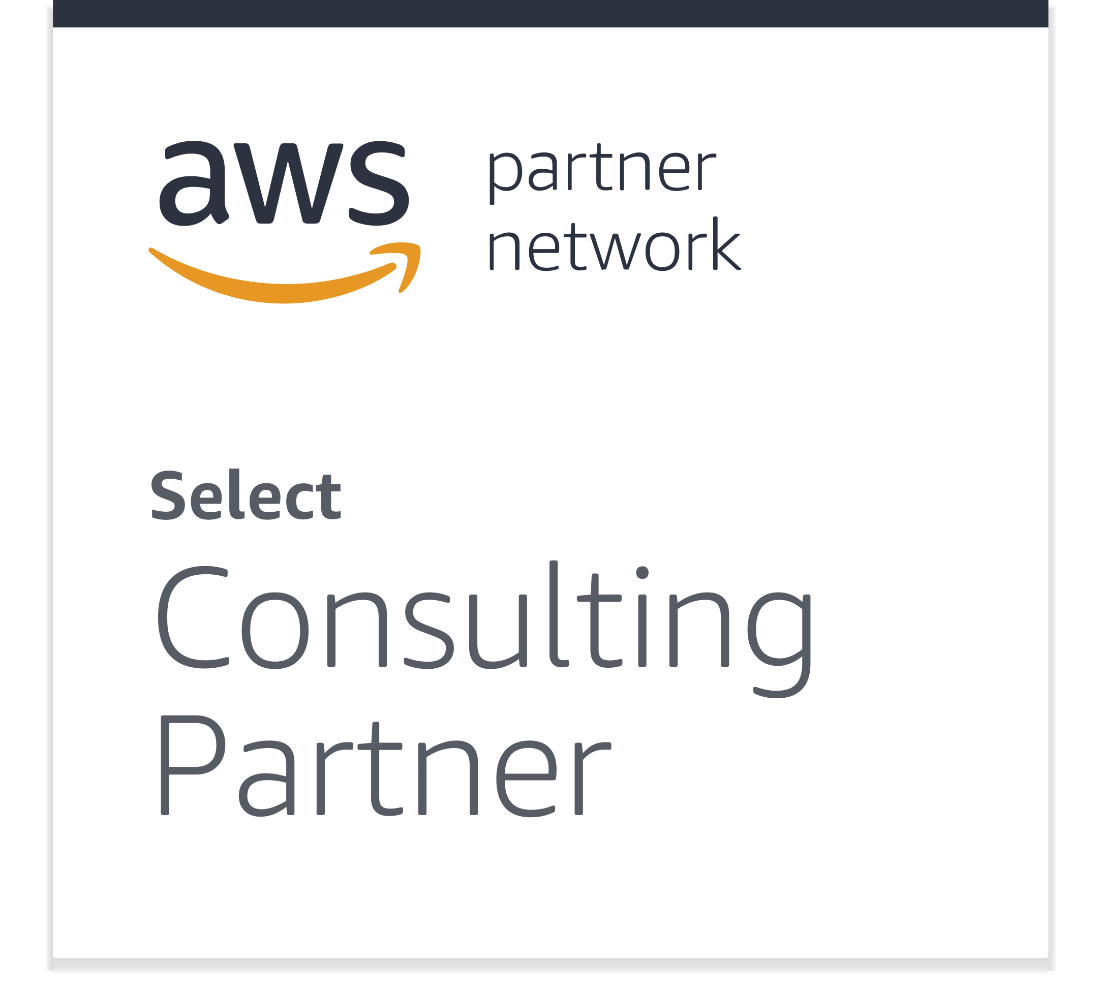 AWS Badge (Select Consulting Partner)